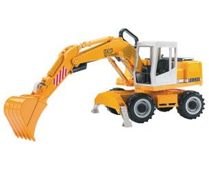 Excavadora de juguete LIERHERR 912