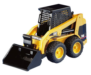Minicargadora de juguete CATERPILLAR 246