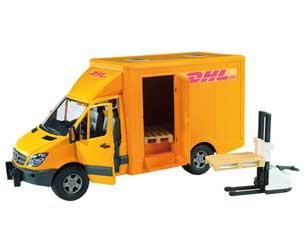 Furgón de juguete MERCEDES BENZ Sprinter DHL
