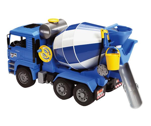 Camión hormigonera de juguete MAN TG 410 A