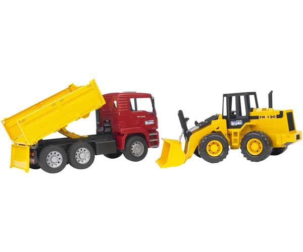 Camión de juguete MAN TAG con cargadora FR13 - Ítem1