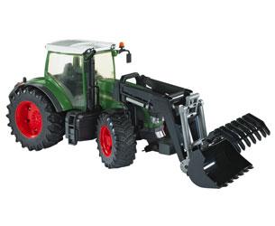 Tractor de juguete FENDT 936 Vario con pala