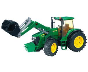 Tractor de juguete JOHN DEERE 7930 con pala - Ítem1