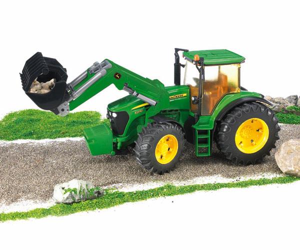 Tractor de juguete JOHN DEERE 7930 con pala - Ítem2