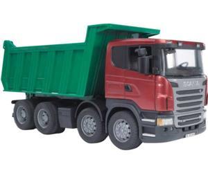 camion dumper de juguete scania