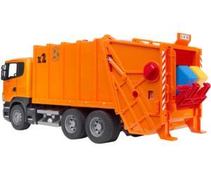 camion basura de juguete scania con carga trasera