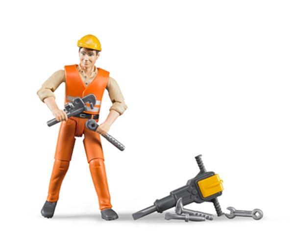 Trabajador de la construccion con accesorios - Ítem1