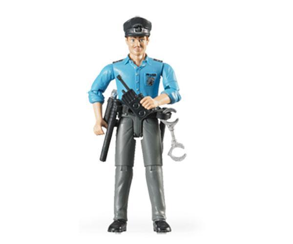 Policia con accesorios