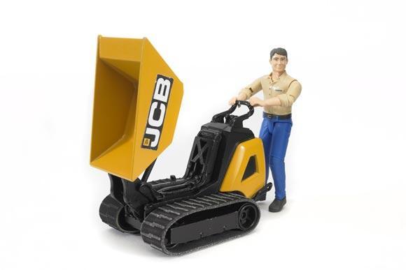 Minidumper de juguete JCB HTD-5 con conductor - Ítem1