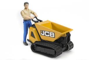 Minidumper de juguete JCB HTD-5 con conductor