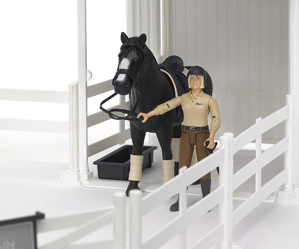 Pack vallado de juguete con caballo y jinete - Ítem1