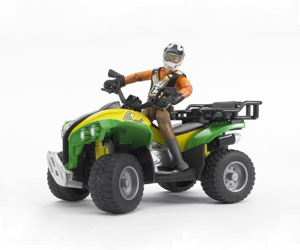 Quad de juguete con conductor - Ítem3