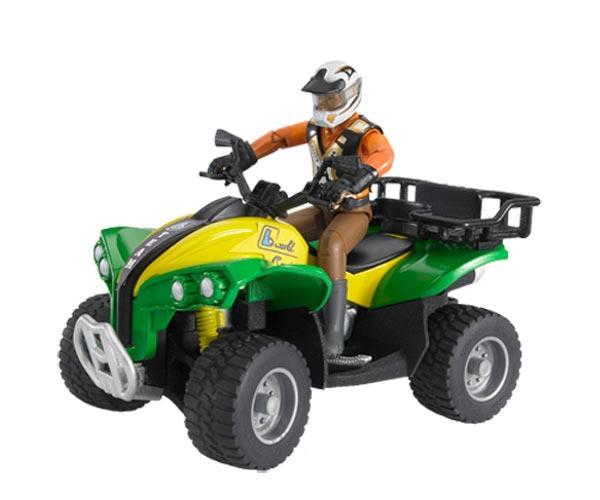 Quad de juguete con conductor