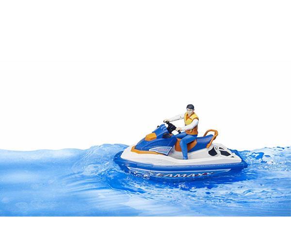 BRUDER 1:16 Moto acuática con piloto - Ítem2