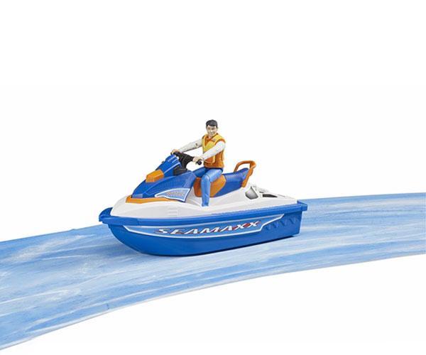 BRUDER 1:16 Moto acuática con piloto - Ítem5