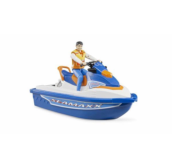 BRUDER 1:16 Moto acuática con piloto - Ítem6