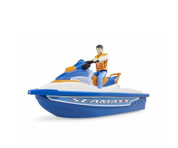 BRUDER 1:16 Moto acuática con piloto - Ítem7