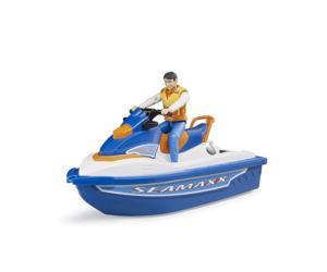 BRUDER 1:16 Moto acuática con piloto