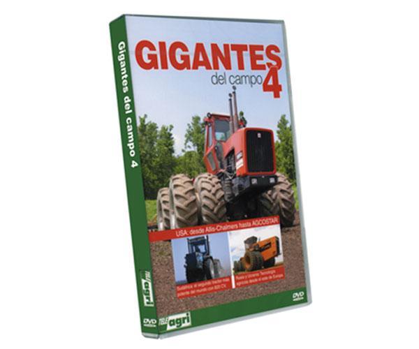 DVD GIGANTES del campo 4
