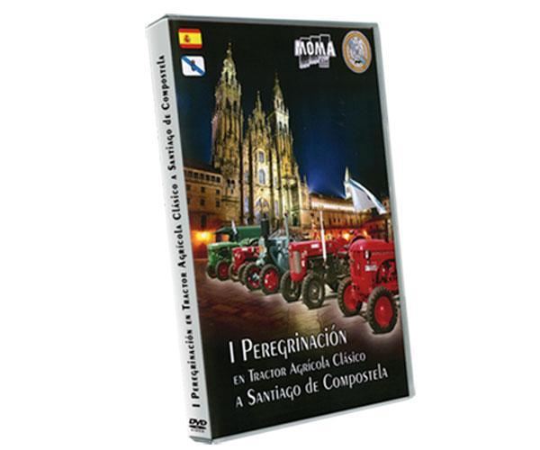 DVD I Peregrinación en tractor clásico a Santiago de Compostela