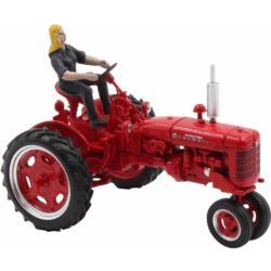 REPLICAGRI 1:32 Tractor FARMALL C con conductor y rueda de recambio