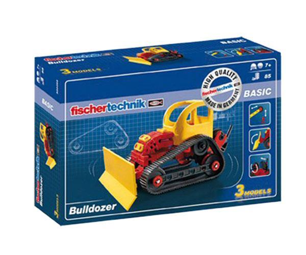 Kit montaje bulldozer fischertechnik 520395 - Ítem4