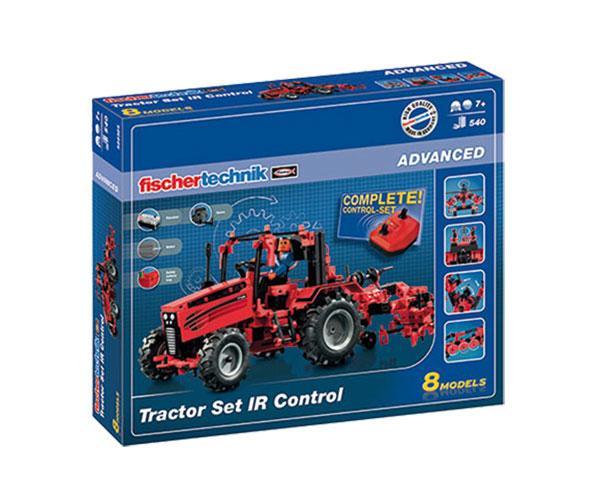 Kit de montaje tractor con apero RC Radio control fischertechnik 524325 - Ítem10
