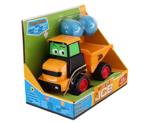 Dumper de juguete JCB Golden Bear 4033 - Ítem4