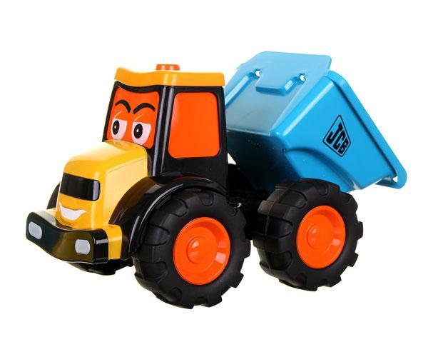 Tractor JCB de juguete con remoque Golden Bear 4034 - Ítem1