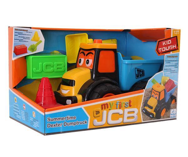 Tractor JCB de juguete con remoque Golden Bear 4034 - Ítem6