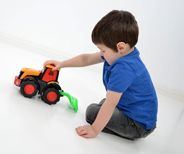 Tractor de juguete JCB Fastrac Freddie-Golden Bear-4035 - Ítem3