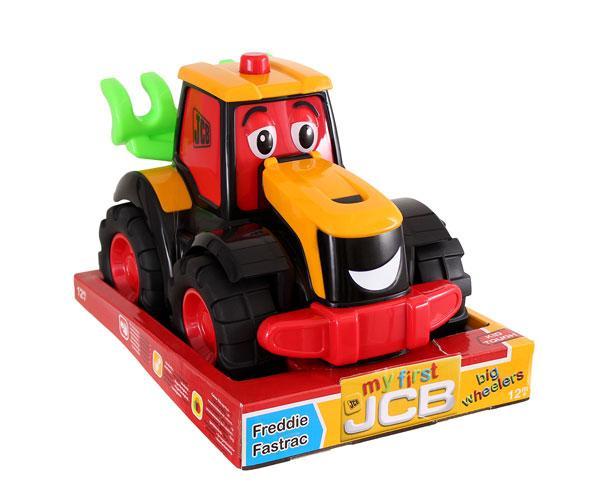 Tractor de juguete JCB Fastrac Freddie-Golden Bear-4035 - Ítem6