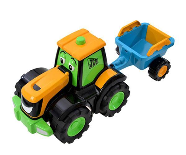 Tractor de juguete JCB con remolque Golden Bear 4036 - Ítem3