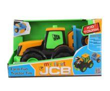 Tractor de juguete JCB con remolque Golden Bear 4036 - Ítem4