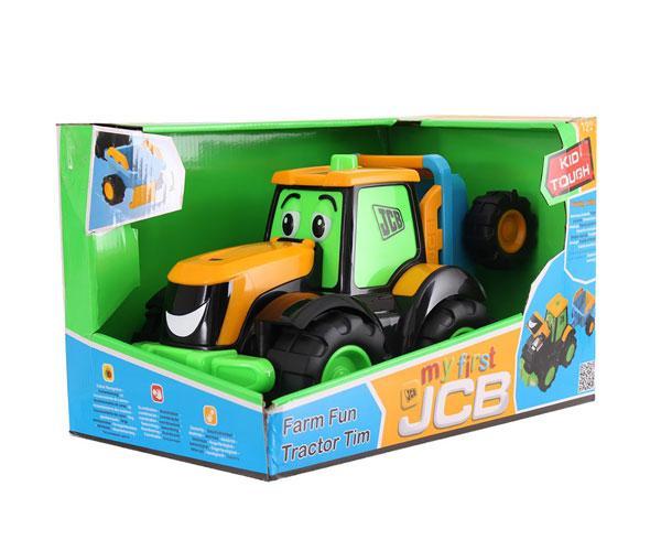 Tractor de juguete JCB con remolque Golden Bear 4036 - Ítem5