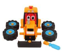 Excavadora de juguete JCB Golden Bear 4037 - Ítem1