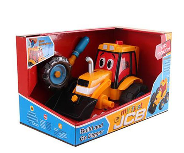 Excavadora de juguete JCB Golden Bear 4037 - Ítem8