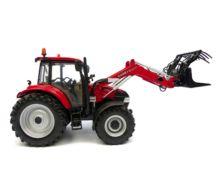 Replica tractor CASE-IH Farmall 115U con pala - Ítem1