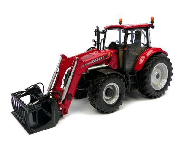 Replica tractor CASE-IH Farmall 115U con pala