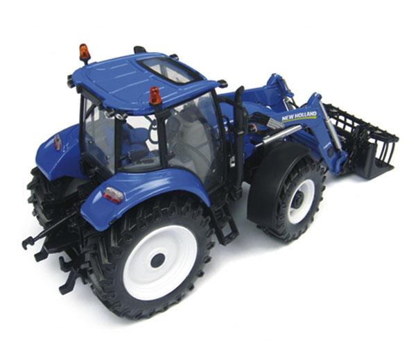 Replica tractor NEW HOLLAND T5.115 con pala 740TL - Ítem1