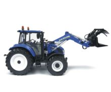 Replica tractor NEW HOLLAND T5.115 con pala 740TL - Ítem4