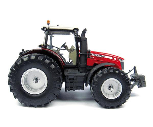 Replica tractor MASSEY FERGUSON 8737 ruedas gemelas - Ítem1