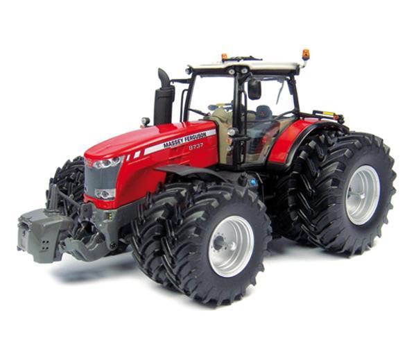 Replica tractor MASSEY FERGUSON 8737 ruedas gemelas