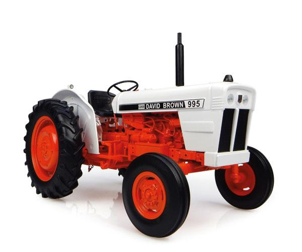 Réplica tractor CASE DAVID BROWN 995 Universal Hobbies UH4885 - Ítem1