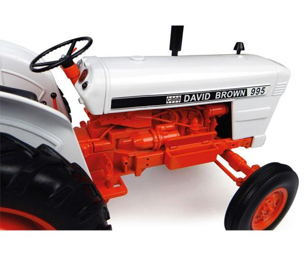 Réplica tractor CASE DAVID BROWN 995 Universal Hobbies UH4885 - Ítem4