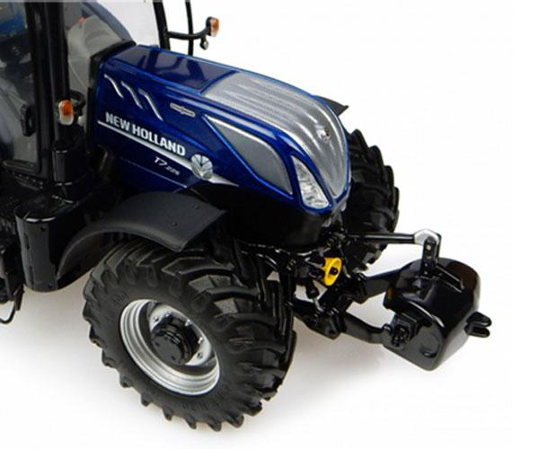Replica tractor NEW HOLLAND T7.225 BLUE POWER Universal Hobbies UH4900 - Ítem1