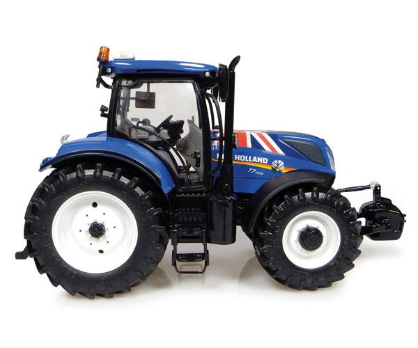 Réplica tractor NEW HOLLAND T7.225 Union Jack Edition Universal Hobbies UH4901 - Ítem1
