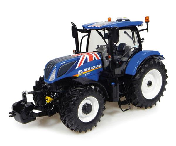 Réplica tractor NEW HOLLAND T7.225 Union Jack Edition Universal Hobbies UH4901 - Ítem