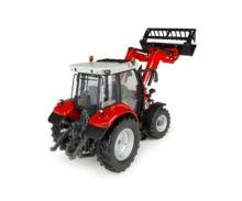 Réplica tractor MASSEY FERGUSON 5713 con pala Universal Hobbies UH4903 - Ítem3