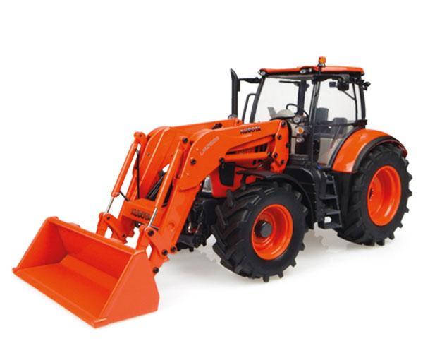 Replica tractor KUBOTA M7171 con pala UH4940 Universal Hobbies